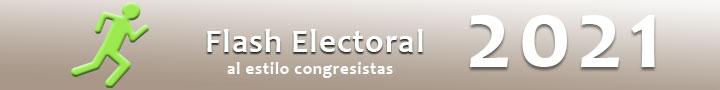 Flash electoral 2021 - Congresistas